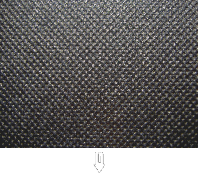 濃紺色の不織布