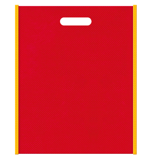 不織布小判抜き袋 本体不織布カラーNo.35 バイアス不織布カラーNo.4