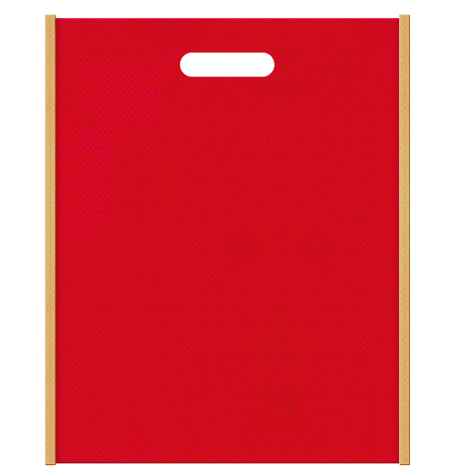 不織布小判抜き袋 0835のメインカラーとサブカラーの色反転