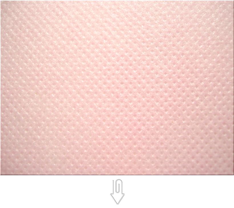 桜色の不織布
