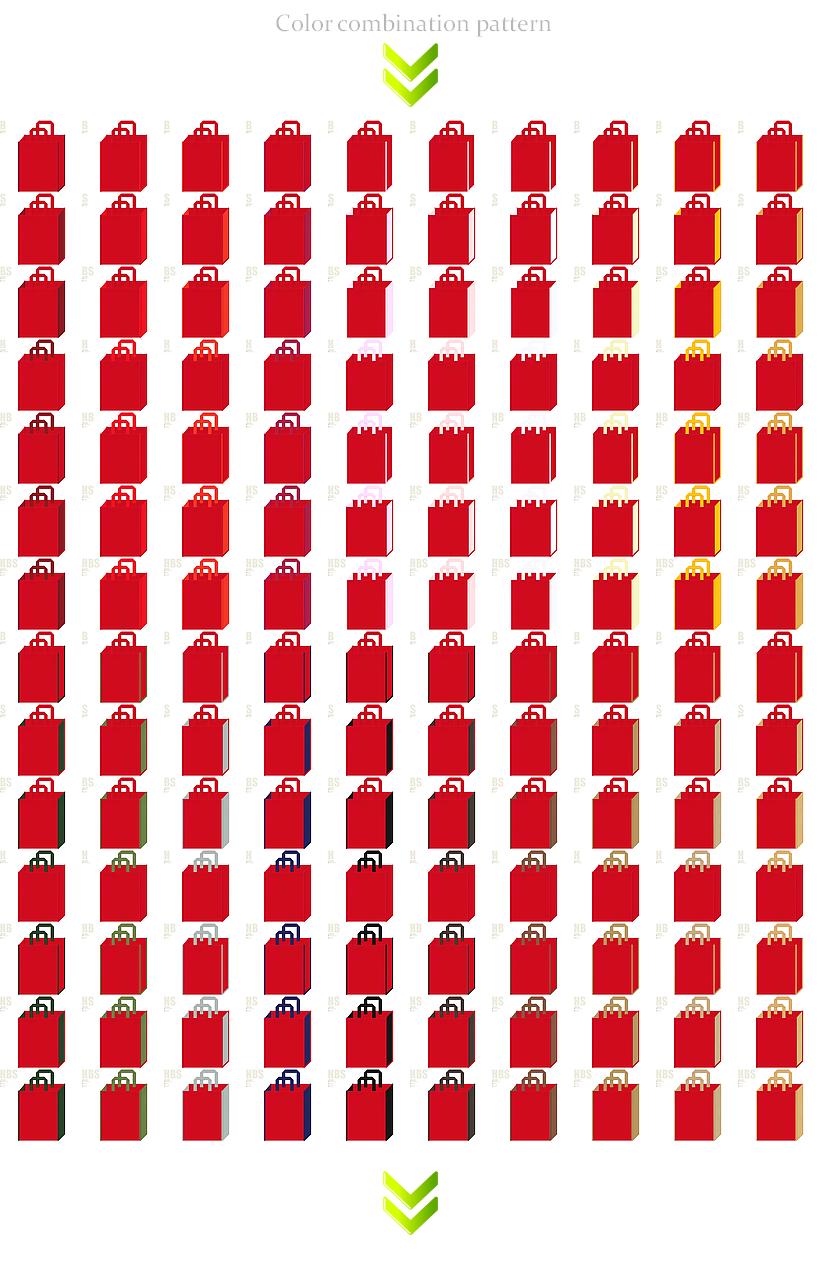 クリスマス・節分・雛祭り・和風催事・お正月・福袋にお奨めの不織布バッグデザイン:紅色のコーデ196例