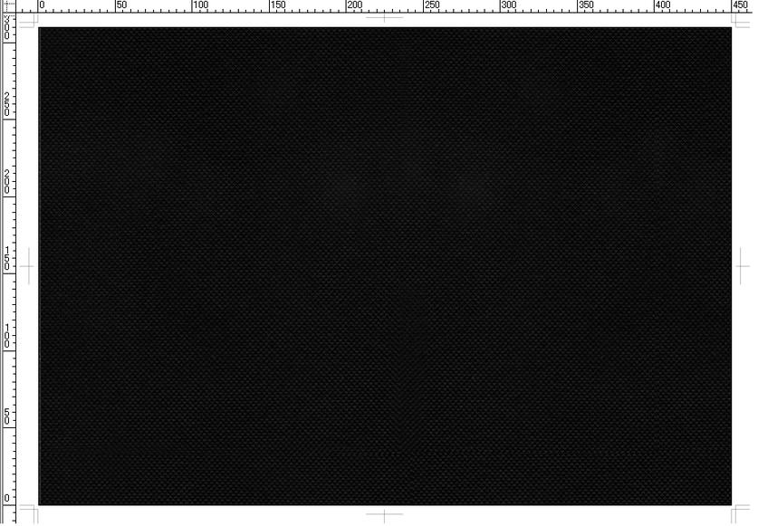A3不織布バッグ:黒色(品番:A3-BL)の印刷版用テンプレート