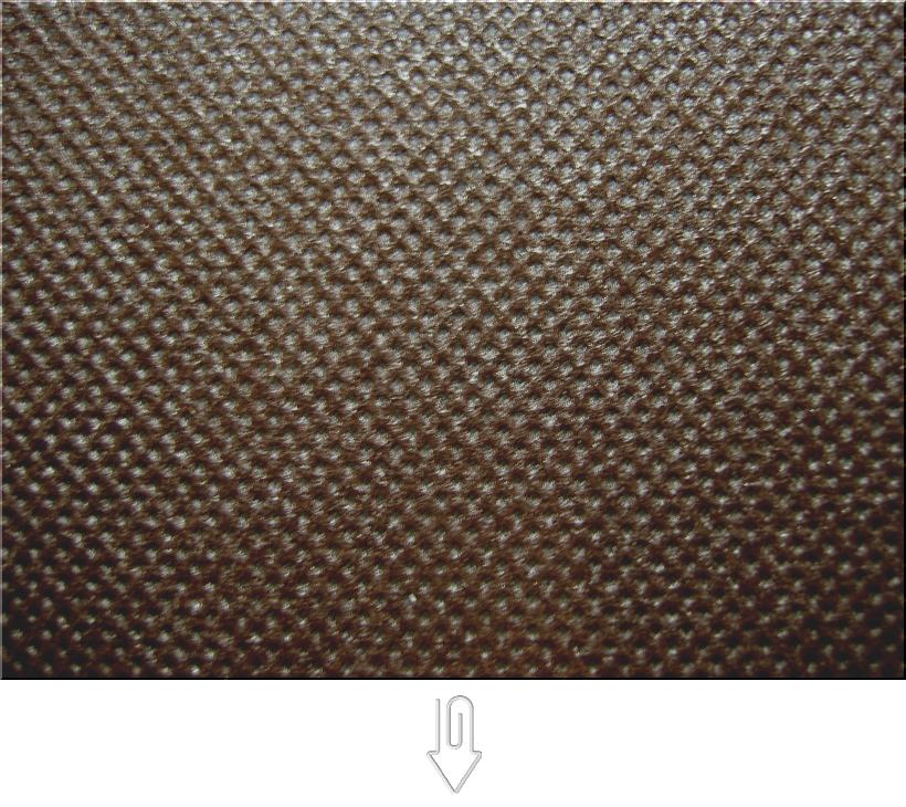 こげ茶色の不織布バッグ制作用生地カラー:不織布No.40