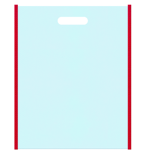不織布小判抜き袋 本体不織布カラーNo.30 バイアス不織布カラーNo.35