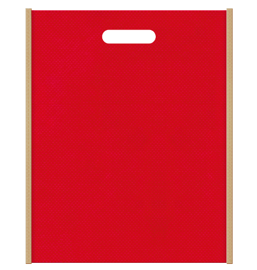 不織布小判抜き袋 2135のメインカラーとサブカラーの色反転