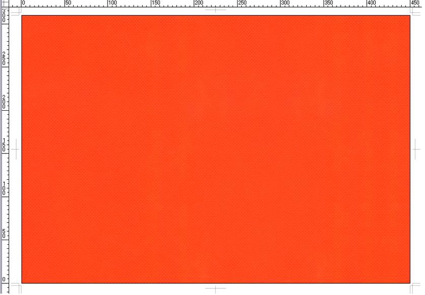 A3不織布バッグ:オレンジ色(品番:A3-OR)の印刷版用テンプレート