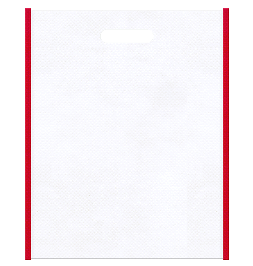 不織布小判抜き袋 本体不織布カラーNo.15 バイアス不織布カラーNo.35