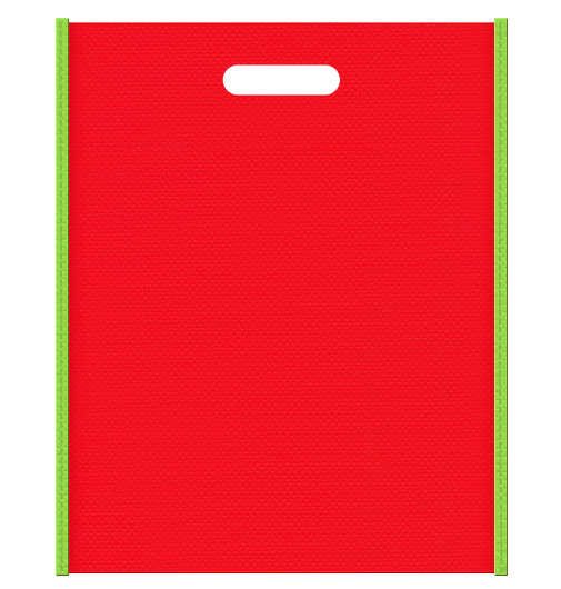 不織布バッグ小判抜き 3806のメインカラーとサブカラーの色反転
