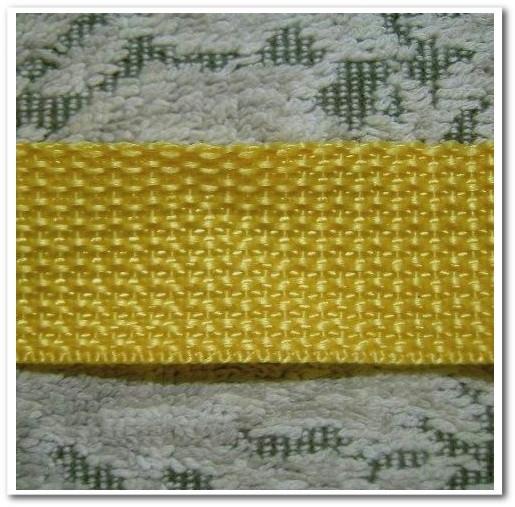不織布バッグオリジナル制作用の持ち手素材:カラーテープの拡大画像