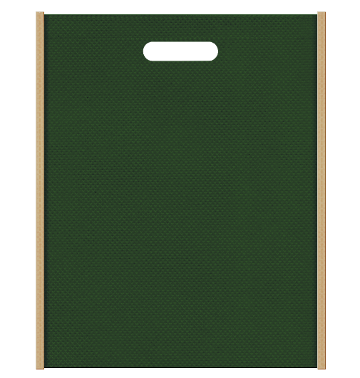 不織布小判抜き袋 2127のメインカラーとサブカラーの色反転