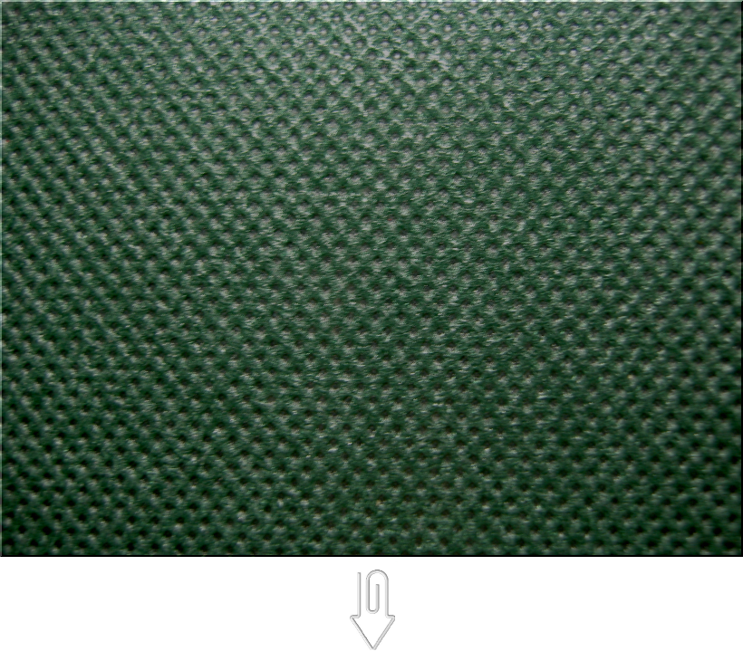 濃緑色、深緑色の不織布