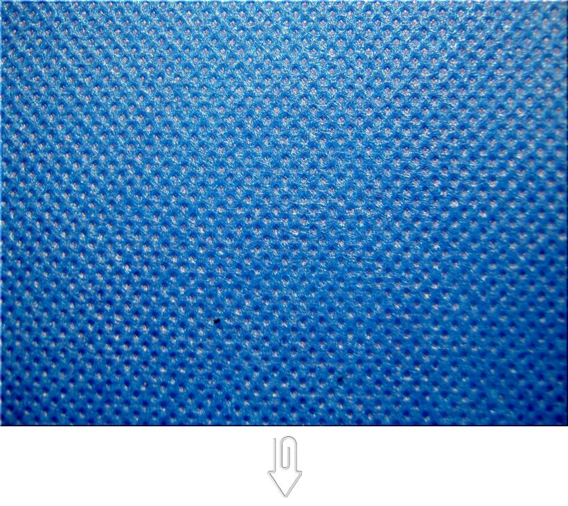 不織布バッグ制作用生地カラー:スカイブルー