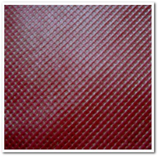 不織布カラー:ワインレッド