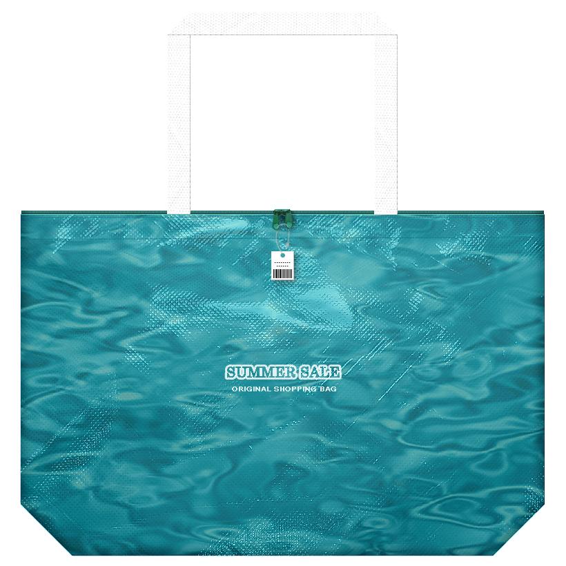 サマーセール用の不織布バッグ:全面印刷