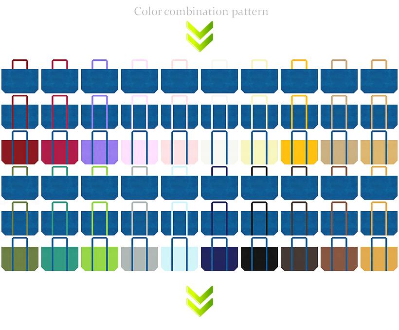青色の不織布ショッピングバッグのデザイン84例:ロボット・LED・AI・電子部品・セキュリティの展示会用バッグ・CO2削減・水資源・環境イベント・父の日・ホビーのショッピングバッグにお奨め