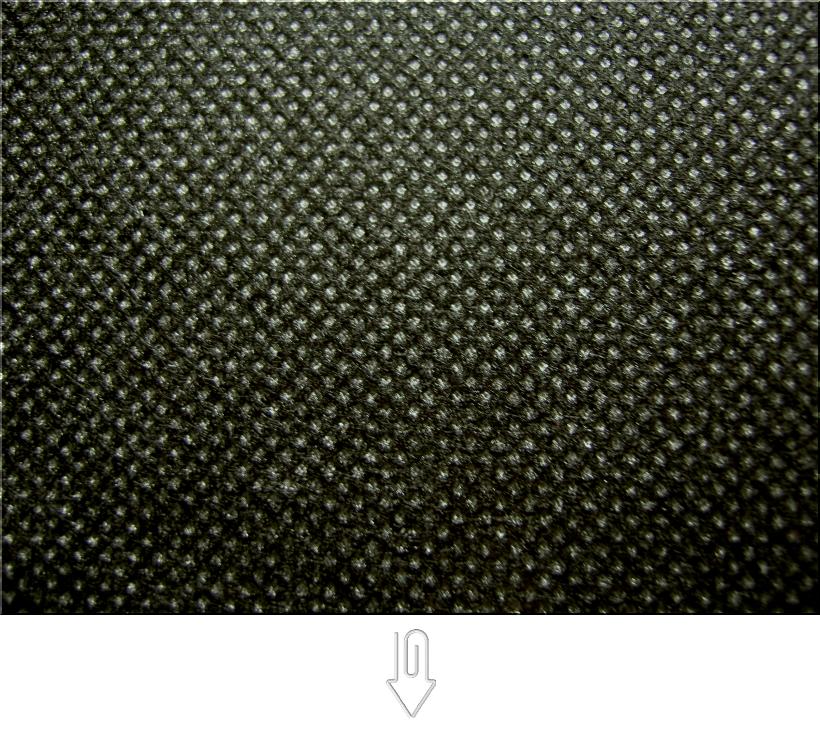 黒色の不織布
