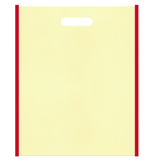 不織布小判抜き袋 本体不織布カラーNo.13 バイアス不織布カラーNo.35