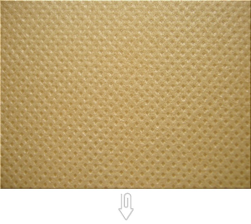 金黄土色の不織布バッグ制作用生地カラー:不織布No.23