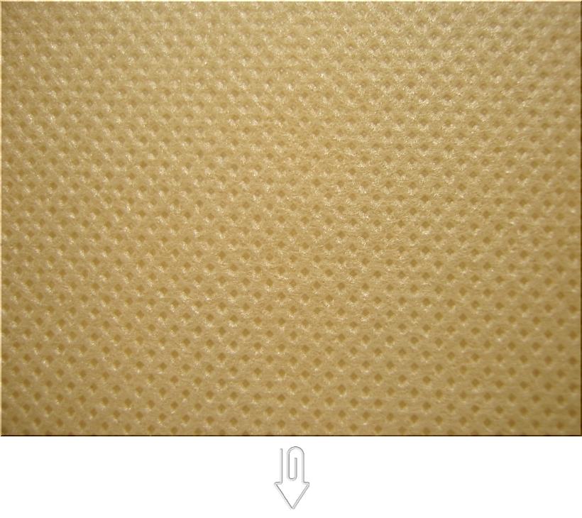マスタード色・金黄土色の不織布