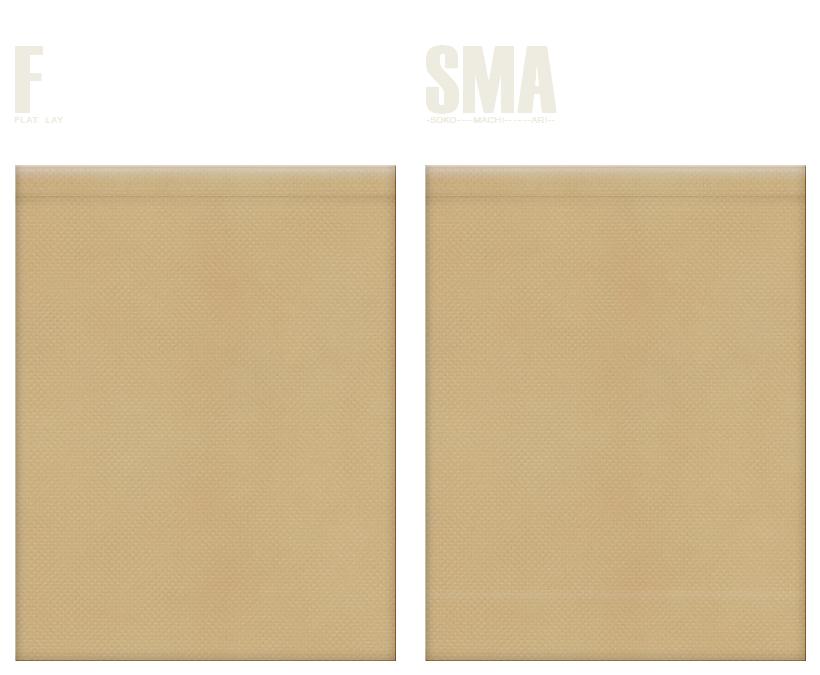 不織布巾着袋のカラーシミュレーション:カーキ色