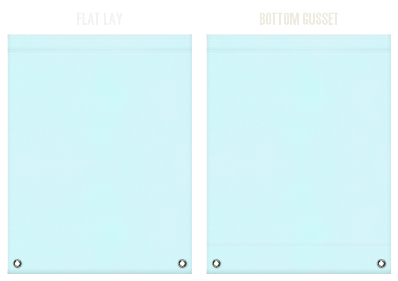不織布リュックサックのカラーシミュレーション:水色