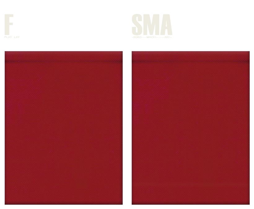 不織布巾着袋のカラーシミュレーション:エンジ色
