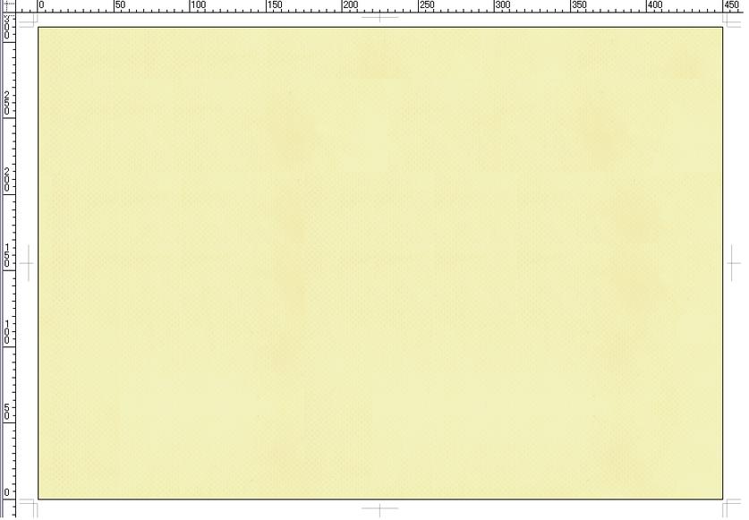 A3不織布バッグ:クリーム色(品番:A3-CY)の印刷版用テンプレート