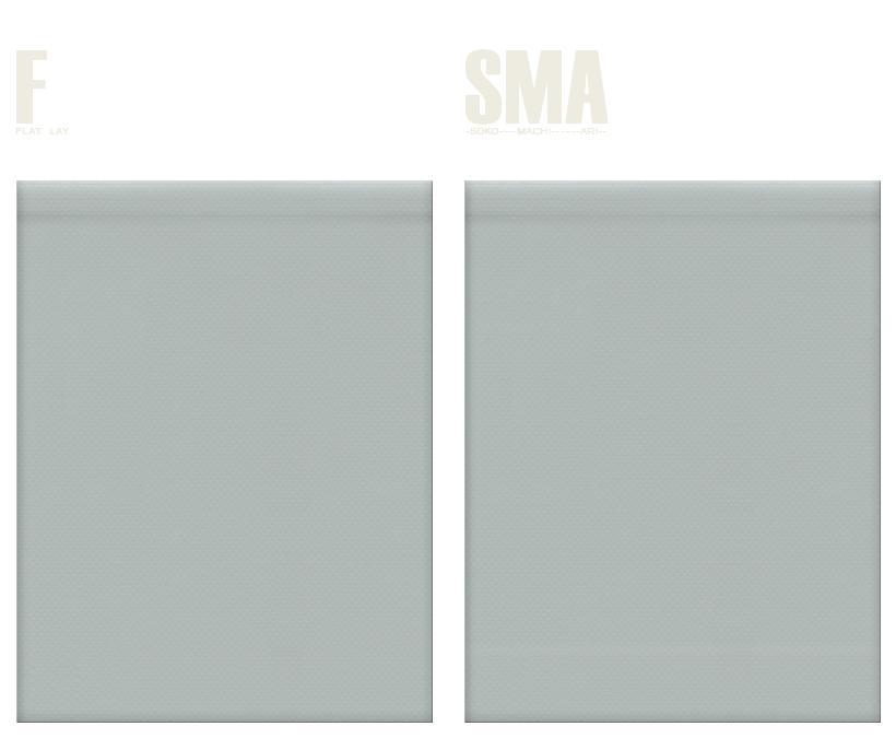 不織布巾着袋のカラーシミュレーション:グレー色
