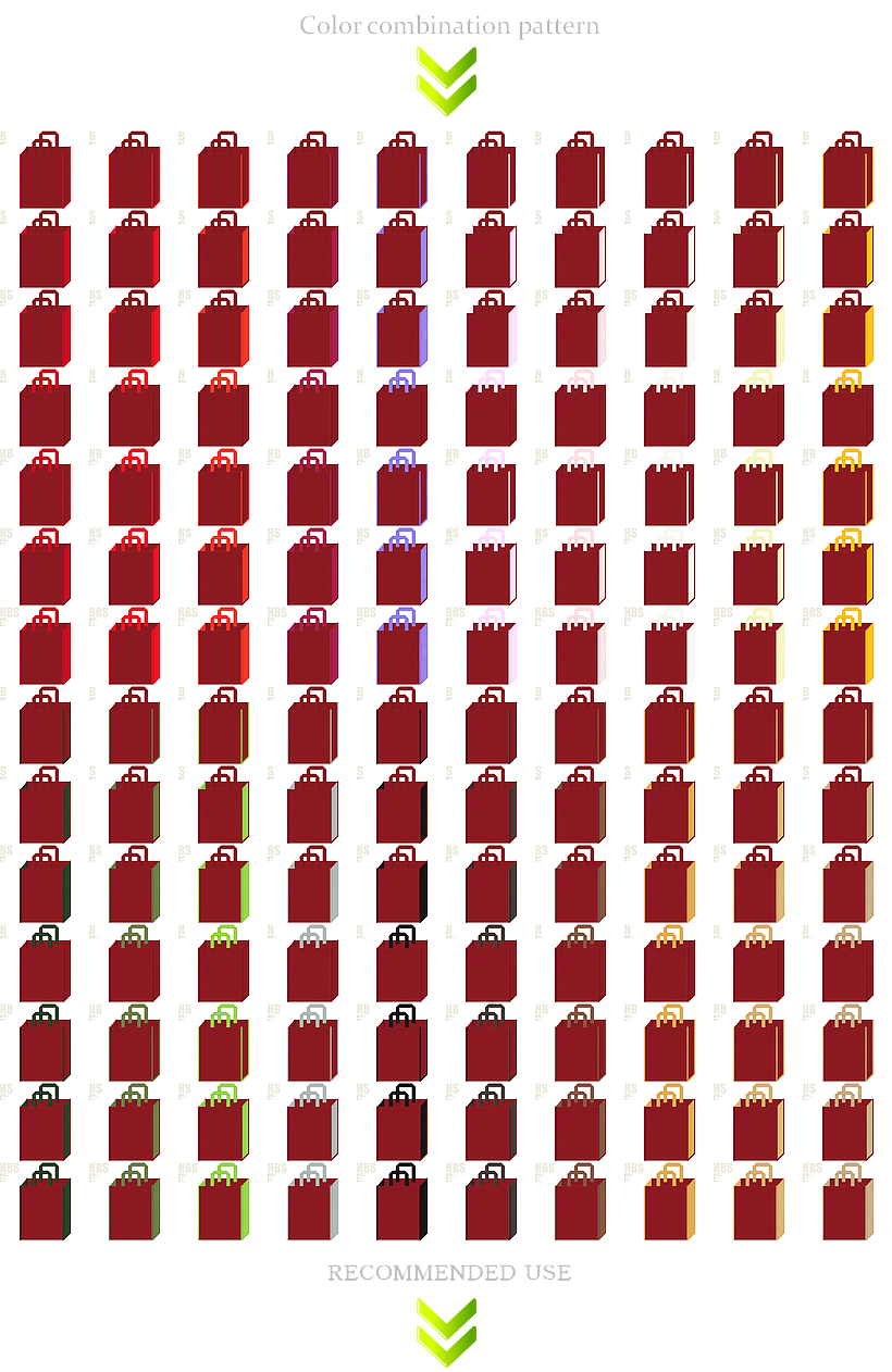 エンジ色の不織布バッグデザイン200例:学校・美術・伝統芸能・観光・福袋・和風催事の記念品にお奨めのカラーが豊富にあります。