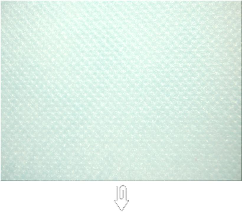 水色の不織布