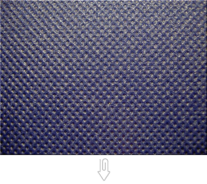 明るい紺色の不織布バッグ制作用生地カラー:不織布No.24