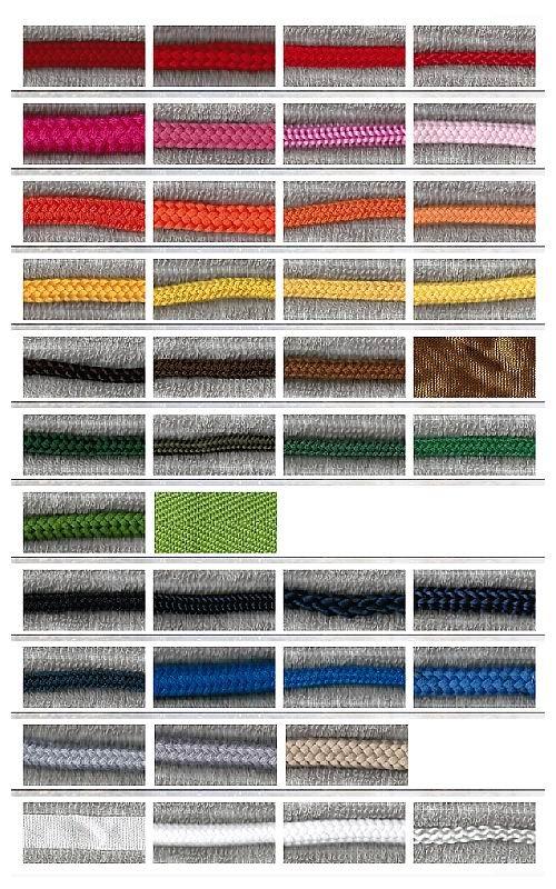不織布バッグオリジナル制作用の付属パーツ事例:紐・リボン