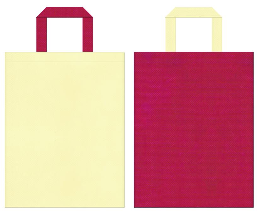 絵本・おとぎ話・月・かぐやひめ・雛祭り・和風催事・ゲーム・キッズイベントにお奨めの不織布バッグデザイン