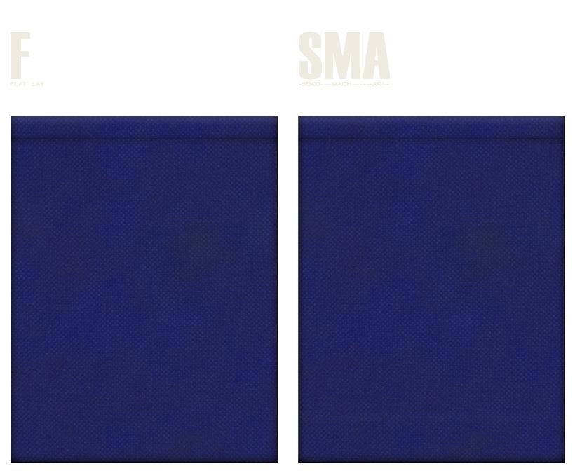 不織布巾着袋のカラーシミュレーション:紺色