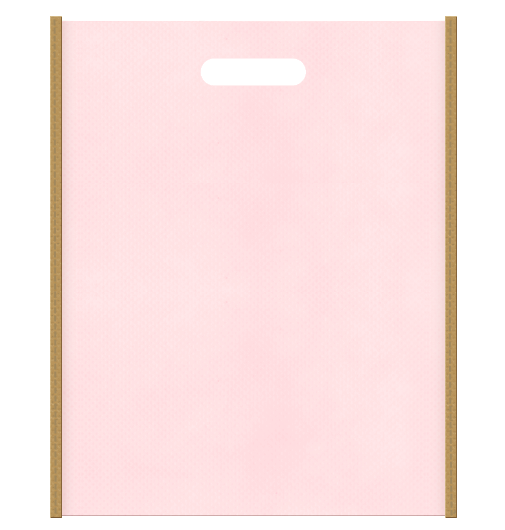 不織布小判抜き袋 2326のメインカラーとサブカラーの色反転