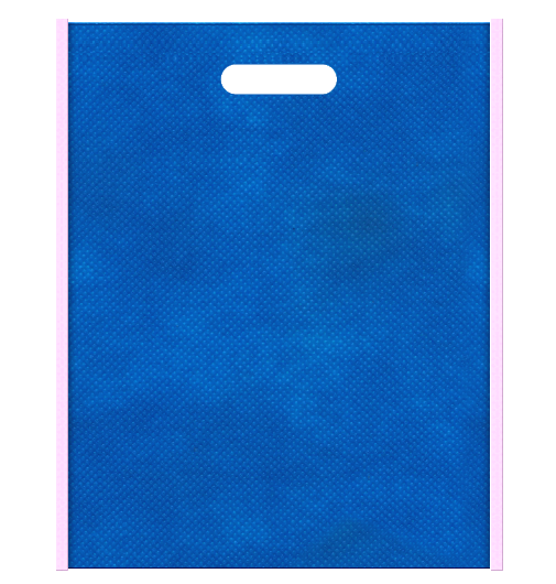不織布小判抜き袋 本体不織布カラーNo.22 バイアス不織布カラーNo.37