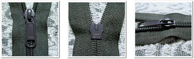 YKKファスナー5RC-DFL:左写真(表面)・中央写真(裏面)・右写真(側面)