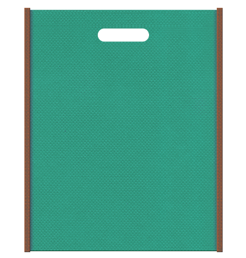 不織布小判抜き袋 0731のメインカラーとサブカラーの色反転