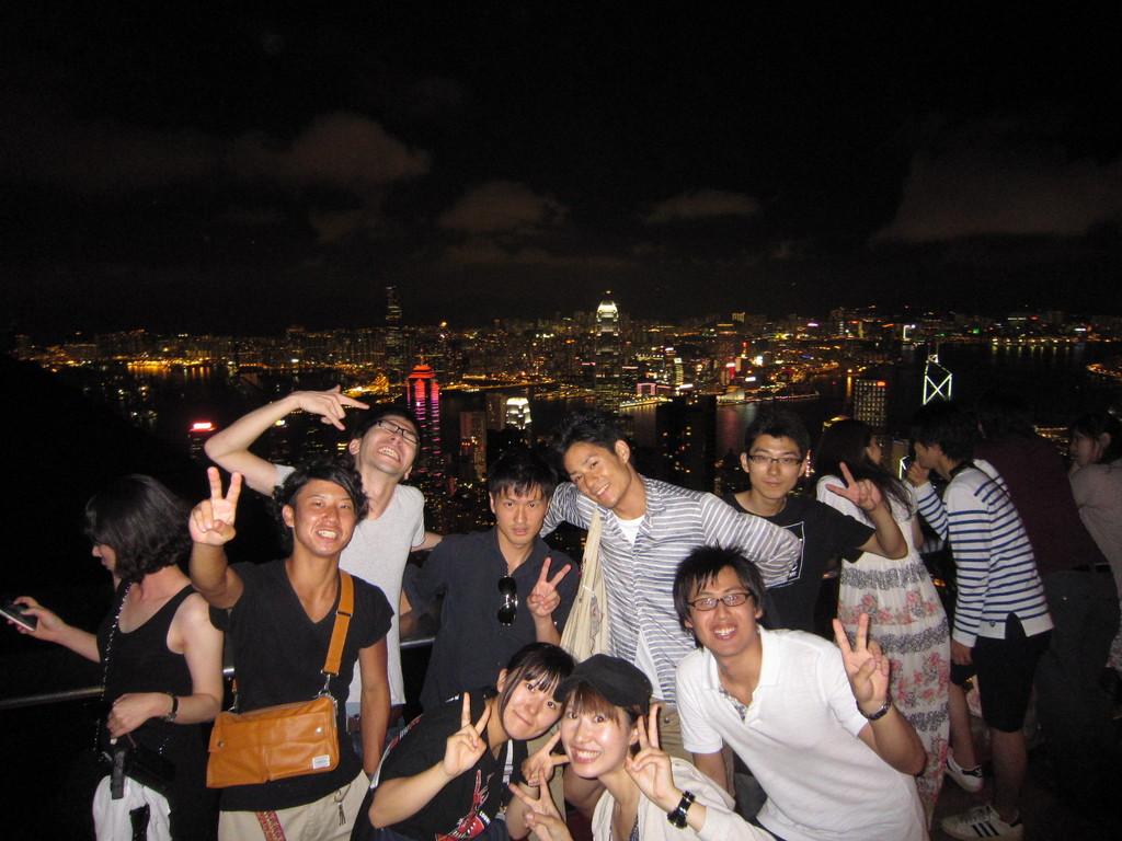 今井ゼミ with 関西学院@ビクトリアピーク