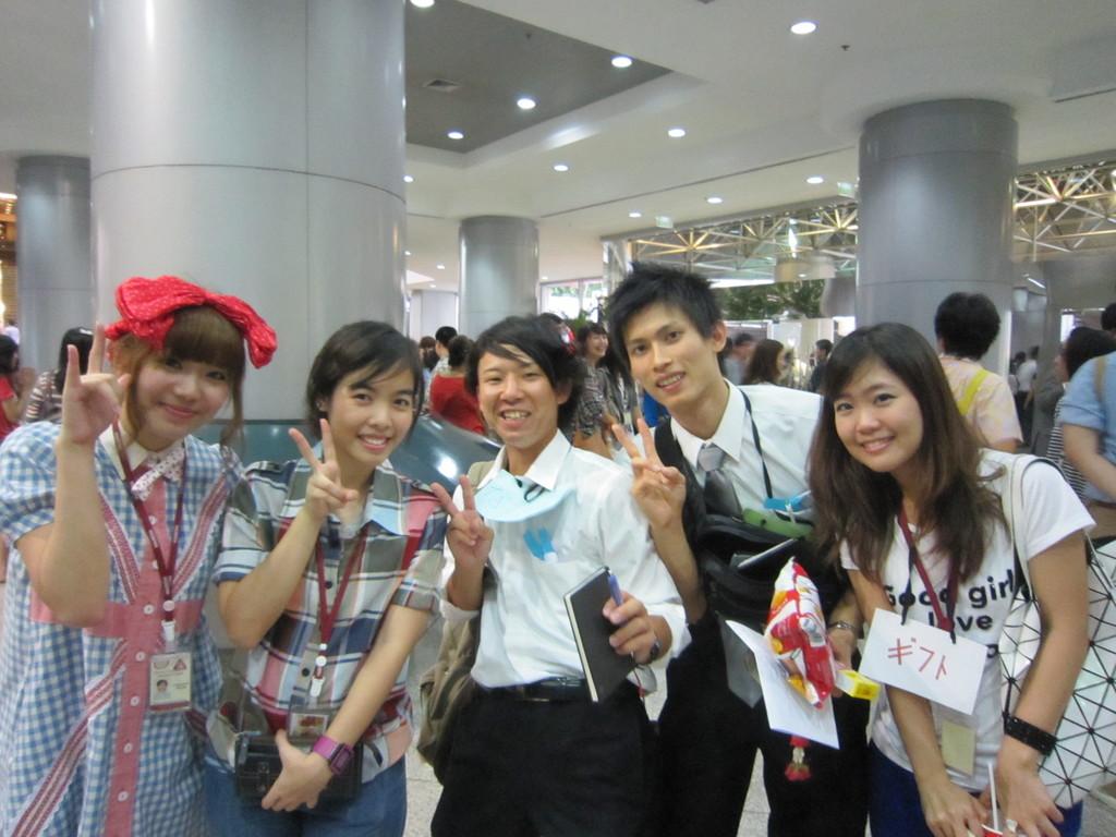 タイの日本語学校の学生と交流②