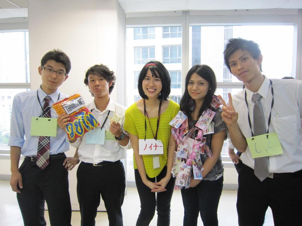 タイの日本語学校の学生と交流①