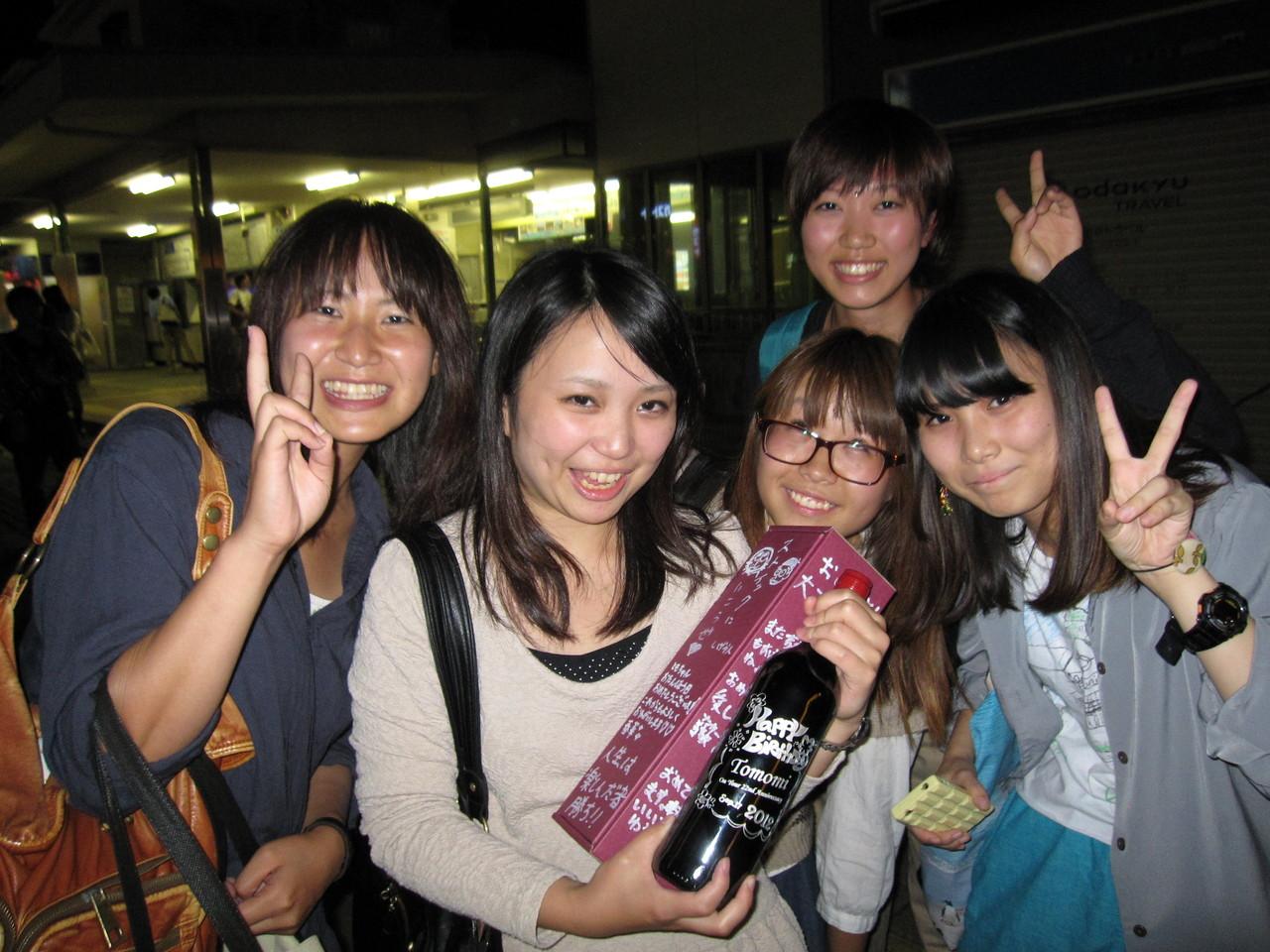 ともみにはオリジナルワイン☆おめでと(^o^)/