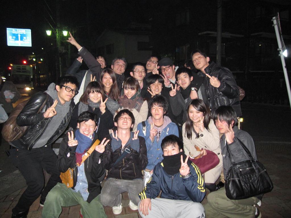 最後に集合写真!!!来年も今井ゼミよろしく☆