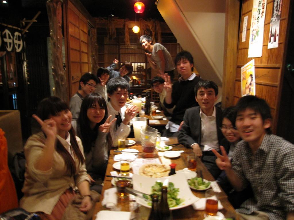テーブル集合写真①