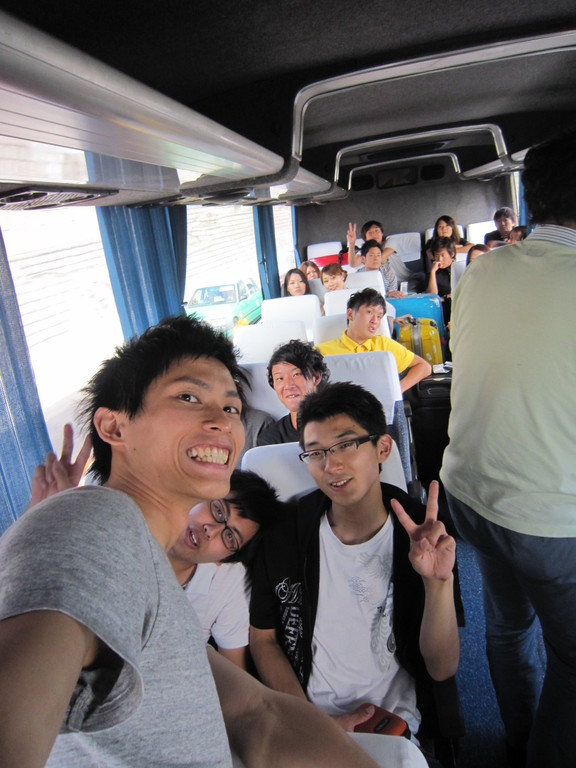 香港の移動中