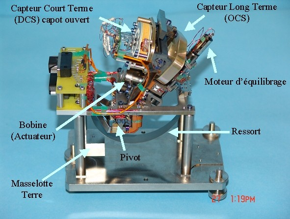 Sismomètre à large bande. Sources: http://smsc.cnes.fr/NETLANDER/Fr/seis.htm
