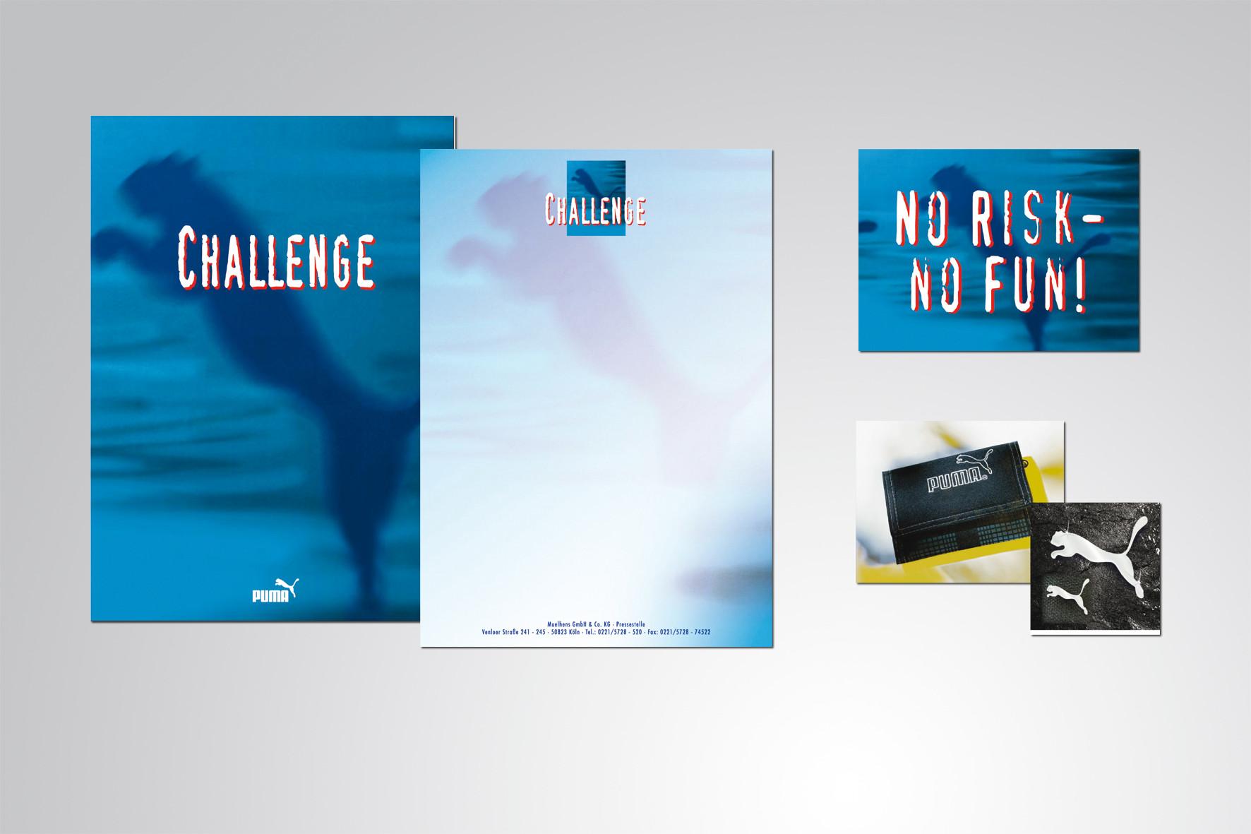 Kunde: Cosmopolitan Cosmetics · Produkt: Puma Challenge VKF