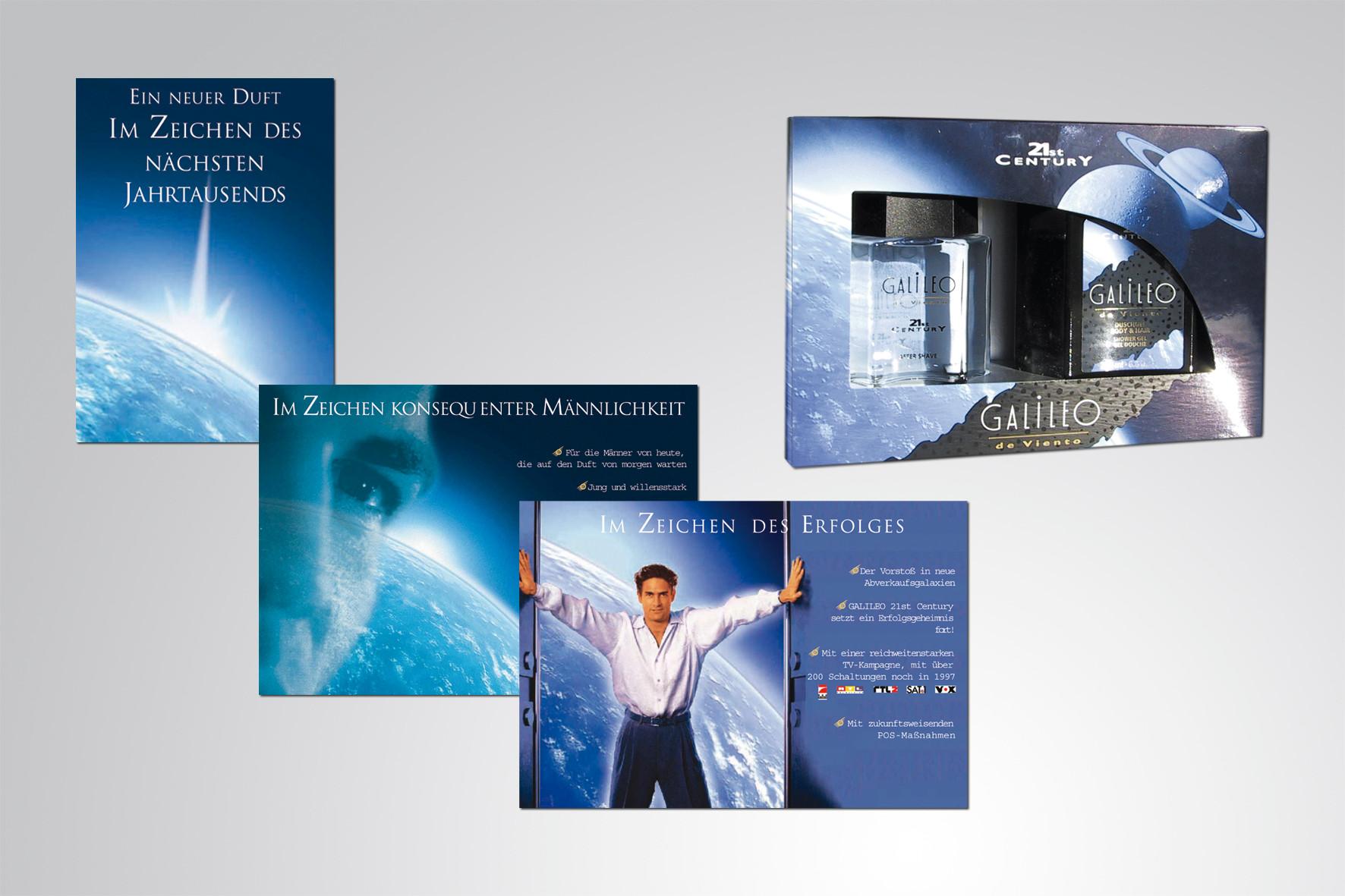 Kunde: Cosmopolitan Cosmetics · Produkt: Galileo 21st Century VKF Maßnahmen
