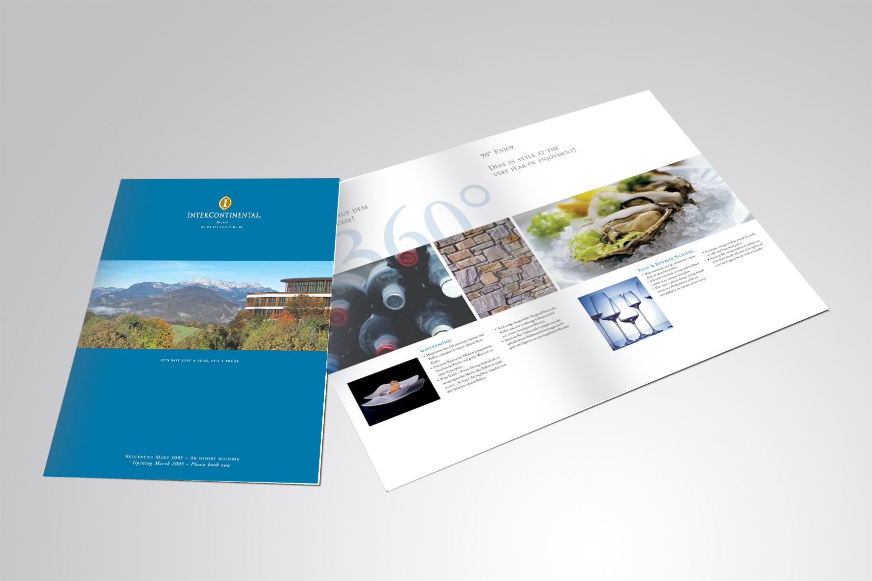 Kunde: InterContinental Resorts Berchtesgaden, Pre-Opening Phase