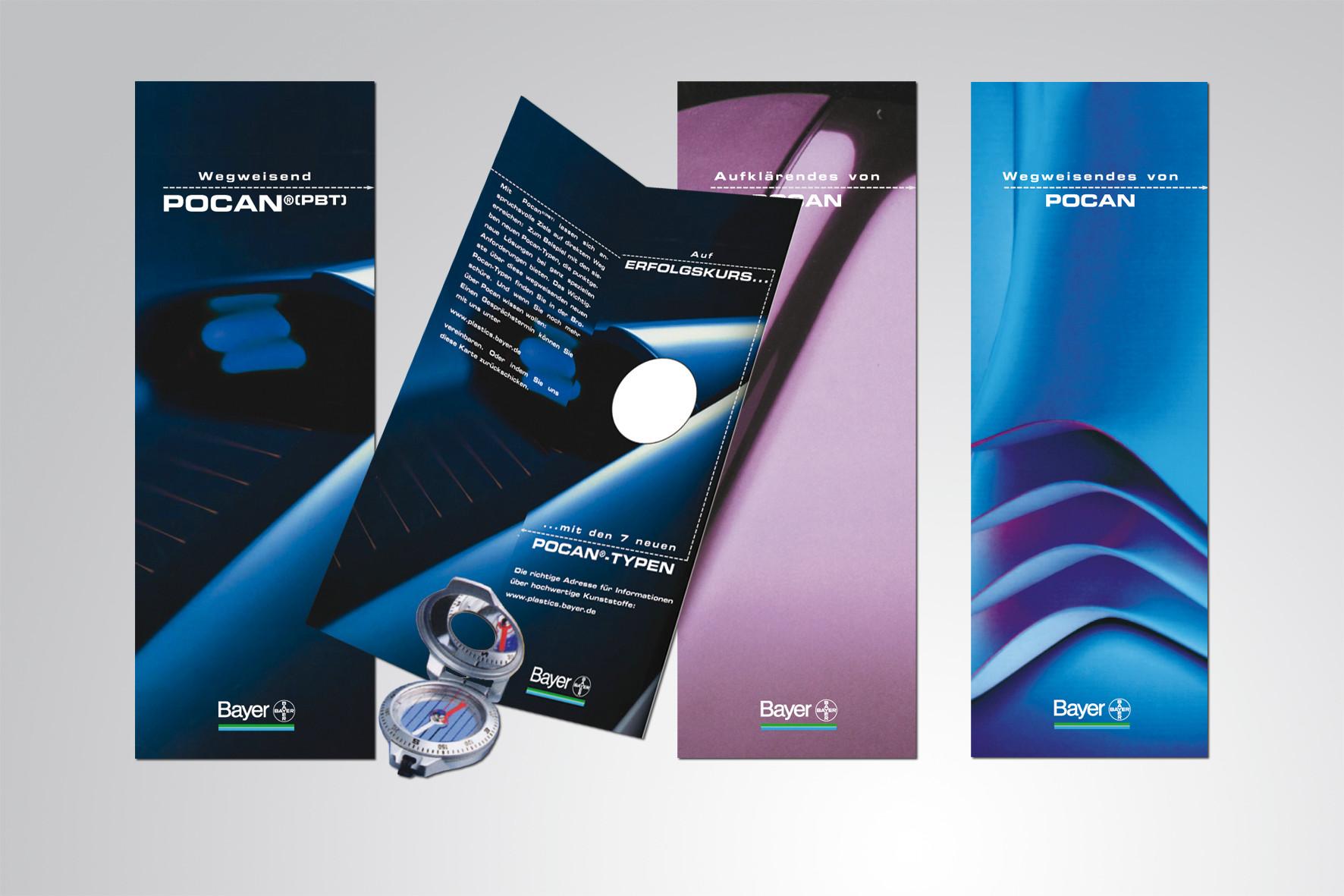 Kunde: Bayer · Produkt: Broschüren Pocan